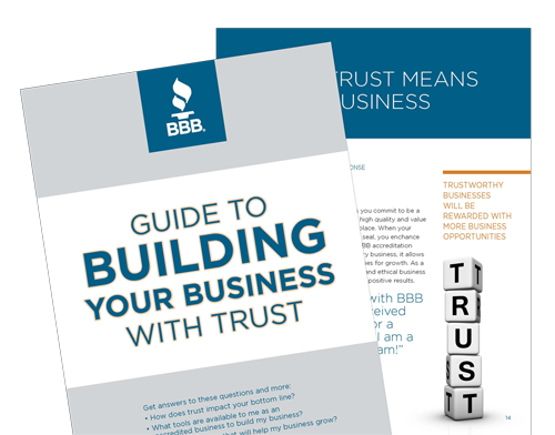 BBB Guide to Building a Better Business With Trust